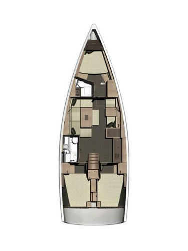 Boat for rent Dufour Yachts 41.0 feet in Marina Mandalina, Sibenik,