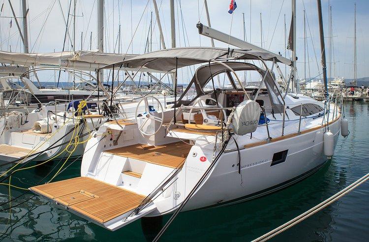 Boat for rent Elan Marine 45.0 feet in Marina Kastela, Kastela,