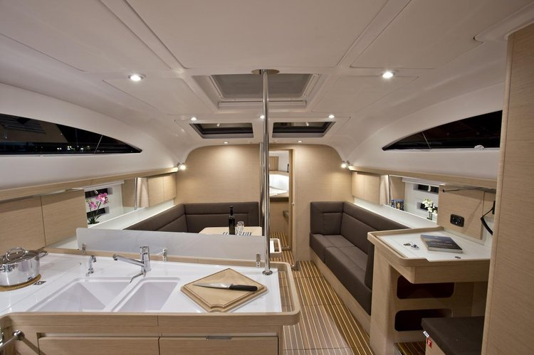 Discover Kvarner surroundings on this Elan Impression 45 Elan Marine boat
