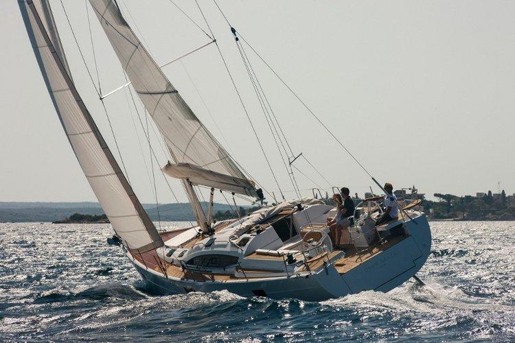 Sail Split region waters on a beautiful Elan Marine
