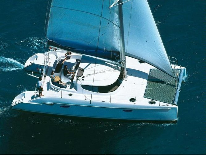 Fountaine Pajot's 38.0 feet in Cyclades