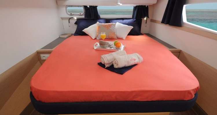 43.0 feet Fountaine Pajot in great shape