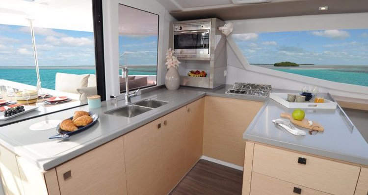 Boat for rent Fountaine Pajot 43.0 feet in Cyclades, Greece