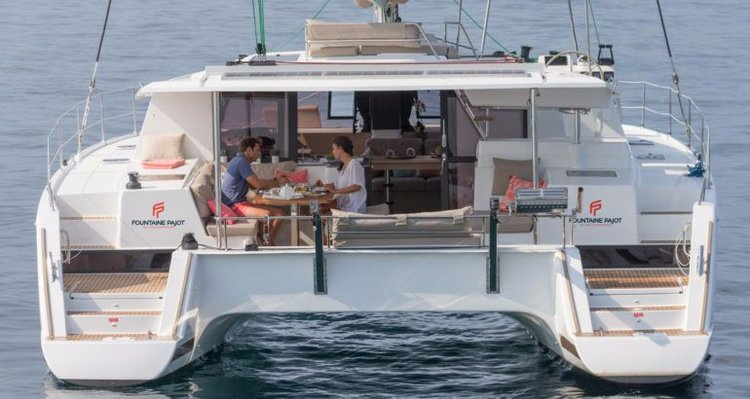 Fountaine Pajot's 43.0 feet in Cyclades