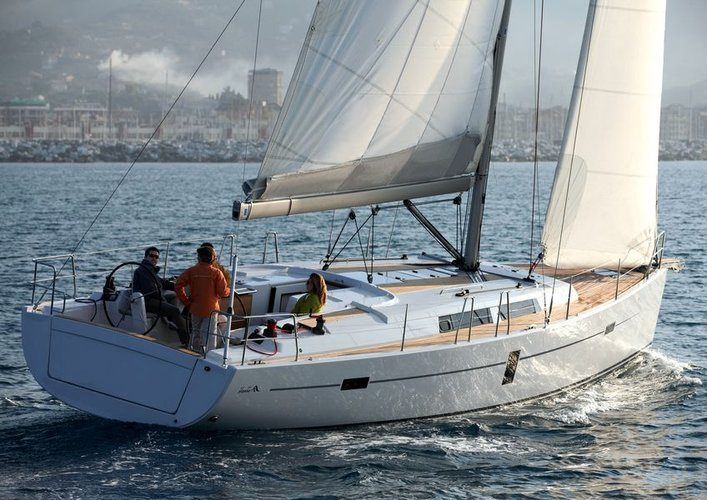 Boat for rent Hanse Yachts 44.0 feet in Marina Kastela, Kastela,