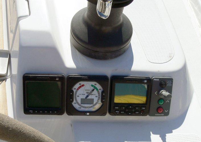 Discover Šibenik region surroundings on this Hanse 445 Hanse Yachts boat