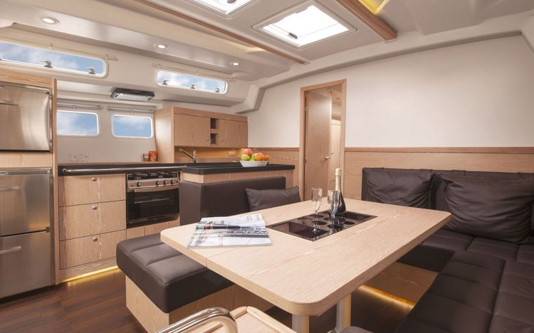 Discover Split region surroundings on this Hanse 505 Hanse Yachts boat