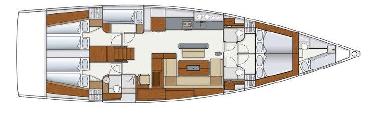 Hanse Yachts boat for rent in Split region