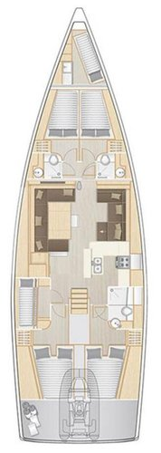 Discover Split region surroundings on this Hanse 588 Hanse Yachts boat