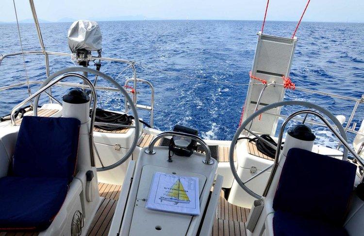 Jeanneau boat for rent in Ionian Islands