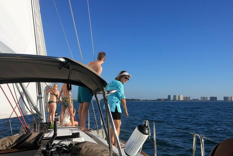 Jeanneau boat for rent in Clearwater