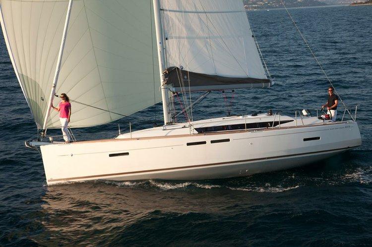 41.0 feet Jeanneau in great shape