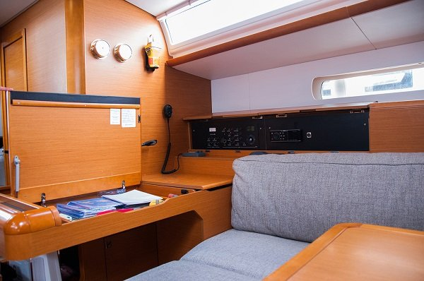 Discover Cyclades surroundings on this Sun Odyssey 519 Jeanneau boat