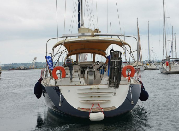Jeanneau's 54.0 feet in Ionian Islands