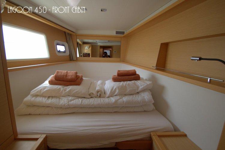 Catamaran boat rental in Marina Mandalina, Sibenik, Croatia