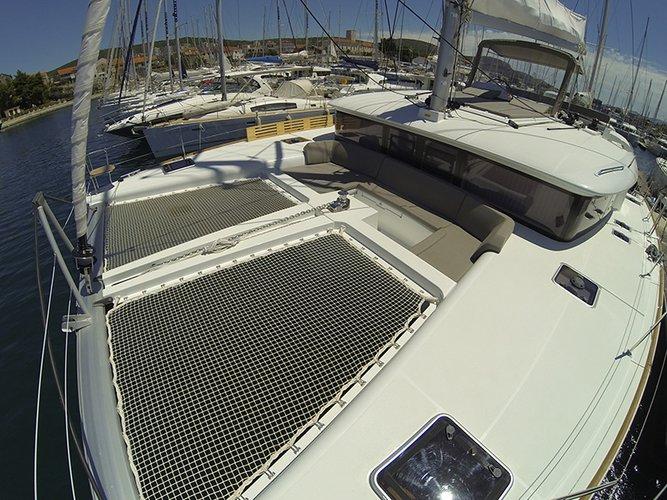 Boat for rent Lagoon-Bénéteau 45.0 feet in Marina Mandalina, Sibenik,