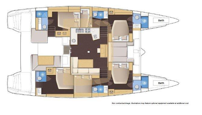 Catamaran boat rental in Yachtclub Seget (Marina Baotić), Seget Donji,