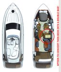 thumbnail-3 Fairline Boats 39.0 feet, boat for rent in Šibenik region, HR