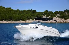 thumbnail-3 Sea Ray Boats 25.0 feet, boat for rent in Zadar region, HR