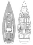 thumbnail-14 Cantiere Del Pardo (Grand Soleil) 45.0 feet, boat for rent in Šibenik region, HR