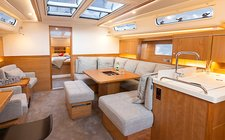 thumbnail-6 Hanse Yachts 45.0 feet, boat for rent in Split region, HR