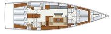 thumbnail-3 Hanse Yachts 56.0 feet, boat for rent in Split region, HR