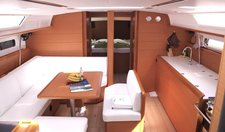 thumbnail-10 Jeanneau 47.0 feet, boat for rent in Cyclades, GR