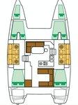 thumbnail-4 Lagoon-Bénéteau 39.0 feet, boat for rent in Saronic Gulf, GR