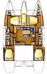 thumbnail-2 Lagoon-Bénéteau 41.0 feet, boat for rent in Split region, HR