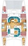 thumbnail-11 Nautitech Rochefort 39.0 feet, boat for rent in Split region, HR