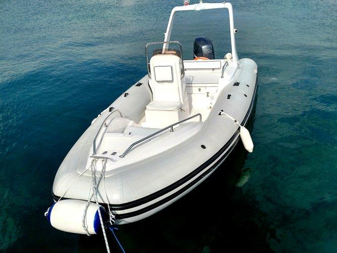 Boat for rent Bural 19.0 feet in Marina Trogir – ACI, Croatia