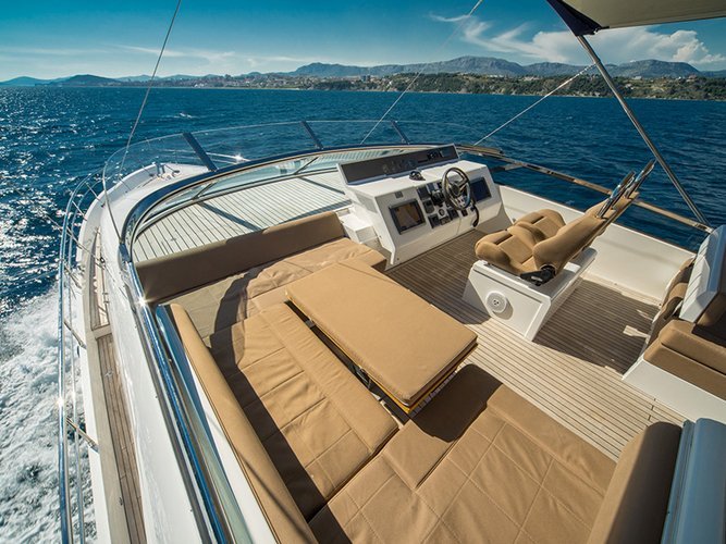 Boat for rent Fairline Boats 79.0 feet in Marina Mandalina, Sibenik,