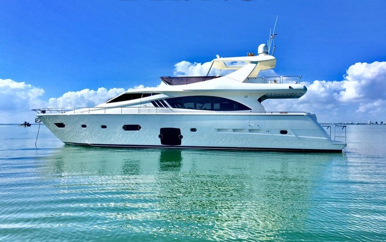 Yacht Party Rental - 76' Ferretti!