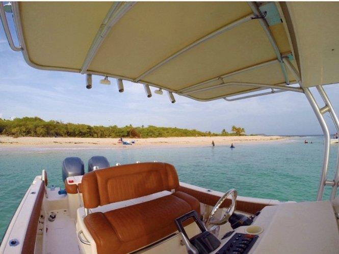 Center console boat for rent in Fajardo