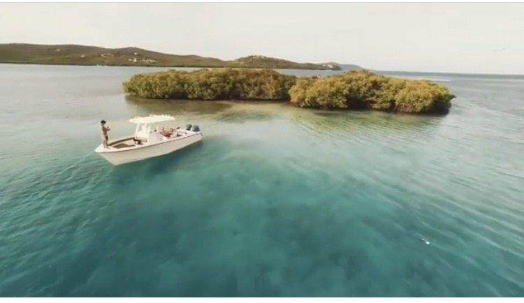 Discover Fajardo surroundings on this Release 283 Grady White boat