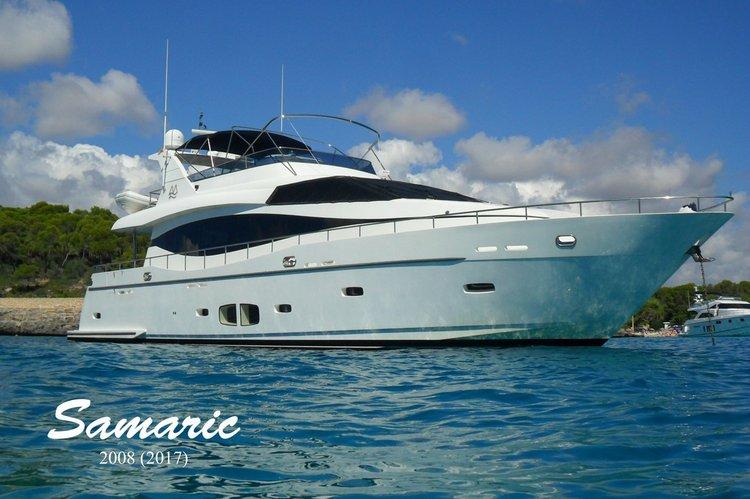 Boat for rent Monte Fino 78.0 feet in club de mar Palma, Spain