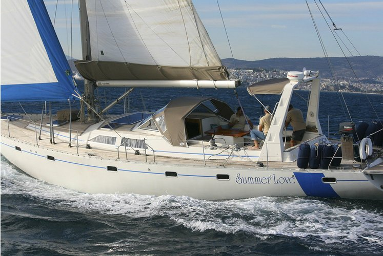 Summer Love Luxury Sailing Yacht | Marina Alimou Athens
