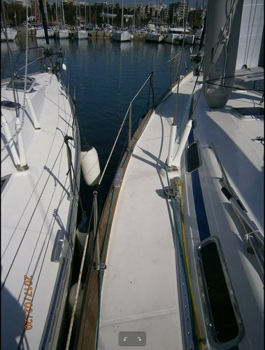 This 48.0' Bavaria Yachtbau cand take up to 10 passengers around Saronic Gulf