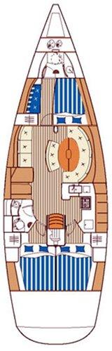 Discover Šibenik region surroundings on this First 47.7 Bénéteau boat
