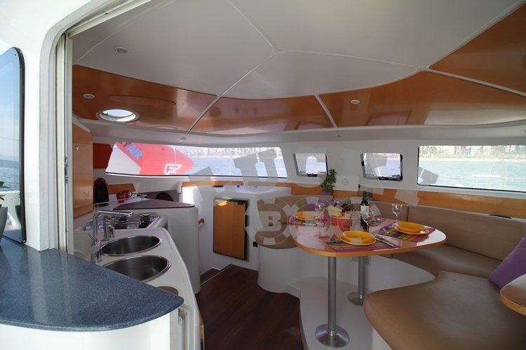 Boat for rent Fountaine Pajot 39.0 feet in Athens - Marina Alimos (Kalamaki),