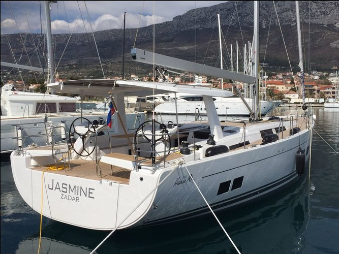 Experience Split region on board this amazing Hanse Yachts