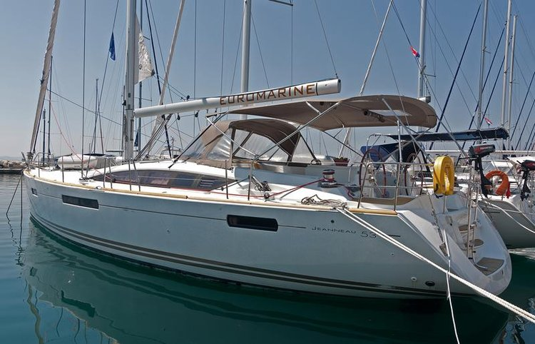 Boat for rent Jeanneau 52.0 feet in Marina Split - ACI , Croatia