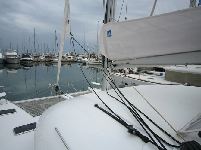 Boat for rent Lagoon-Bénéteau 37.0 feet in Marina Alimos (Kalamaki), Greece