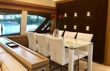 thumbnail-3 Ferretti 76.0 feet, boat for rent in Miami Beach,