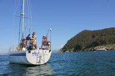 Luxurious sailing boat available for unforgettable tours in Galicia!