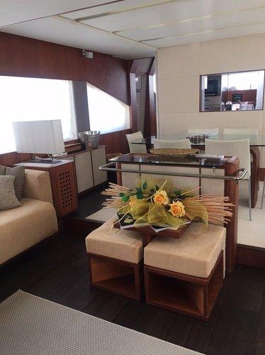 Motor yacht boat rental in Sicily, Italy