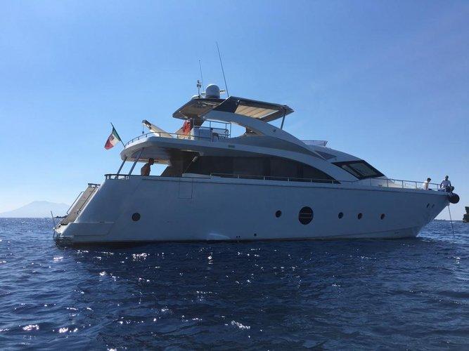 Aicon Yachts's 76.0 feet in Sicily