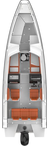 Discover Split region surroundings on this Axopar 24 T-Top Axopar boat