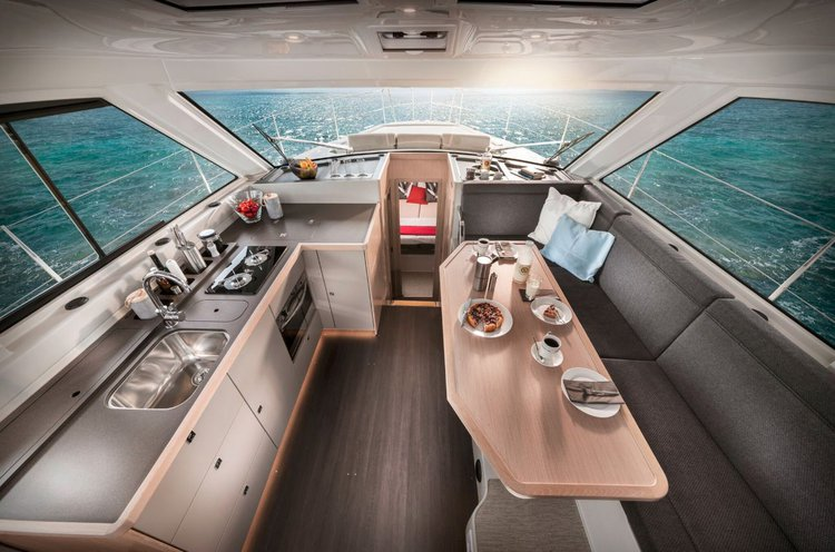 Discover Split region surroundings on this Bavaria E40 Fly Bavaria Yachtbau boat