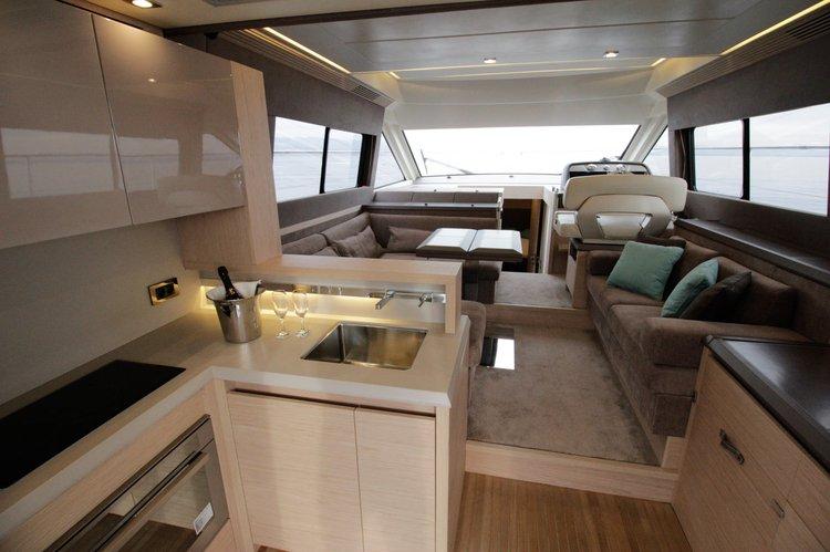 Motor yacht boat rental in Marina Admiral Opatija, Croatia
